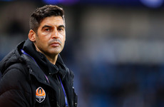 Rebuilding Roma turn to successful Shakhtar coach to take over from Ranieri