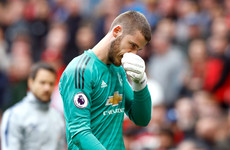Spain number 2 plays down decision to drop David de Gea
