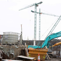 Construction has started on the building frame of the National Children's Hospital