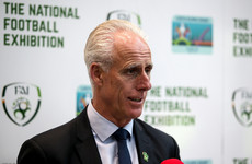 McCarthy dismisses 'unfair' question about extending reign beyond Euro 2020