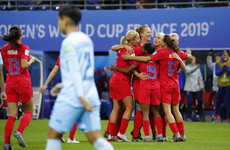 Ruthless USA get World Cup title defence underway with record-breaking 13-0 win