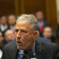 Emotional Jon Stewart attacks 'shameful' lawmakers for not turning up for 9/11 hearing