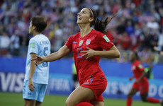 Five-star Morgan says 'every goal counts' with USA's 13-0 hammering of Thailand 'part of growing the game'