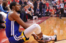 'I'm hurting deeply, but I'm OK' - Durant could miss 12 months after surgery for ruptured Achilles