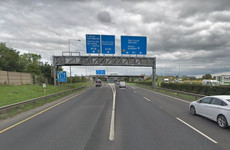 Delays expected after part of M1-M50 slip road closed due to HGV breakdown