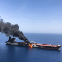 US accuses Iran of being behind attack on two oil tankers in the Gulf
