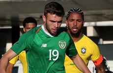 Ireland U21 striker returns to England following loan spell at Waterford