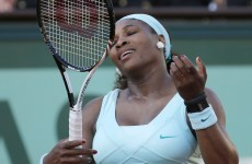 One and done: Serena crashes out in French Open first round