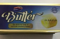 Batch of butter being recalled due to presence of listeria monocytogenes