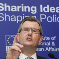 The Irish government is 'driving us all' towards a no-deal Brexit, says DUP's Jeffrey Donaldson
