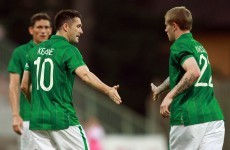 Keane on the double against Tuscan XI