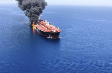 Gulf of Oman attacks: US says video shows Iran removing mine from oil tanker