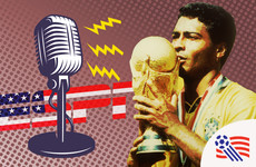Meet the Irishman who became the voice of the 1994 World Cup in America
