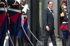 Hollande says military intervention in Syria could still happen