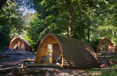 Sleep Here: Drift off in a luxury glamping pod among the trees at Castle Ward Estate