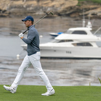 Jordan Spieth - 'Oh, it hit the rake, there's a rake there'