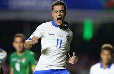 Coutinho brace silences Brazilian boos in Copa America opener