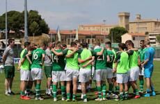 Penalty misfortune for Kenny's U21s as Ireland finish 4th in Toulon