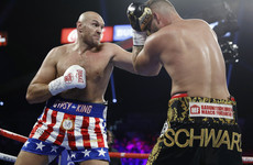 Fury eases to second round stoppage over Schwarz, eyes Wilder rematch in 2020