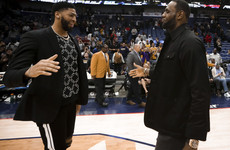 Davis set to link up with LeBron at the Lakers in blockbuster trade - reports
