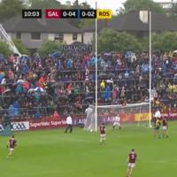 Watch: Conor Cox's wonder point that lit up Roscommon's Connacht final triumph