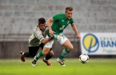 Here are the goals from Ireland's 5-0 win against the Tuscan XI last night
