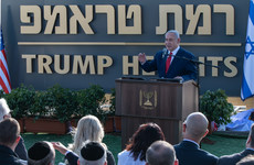 Trump Heights: Israel names Golan Heights settlement after Donald Trump
