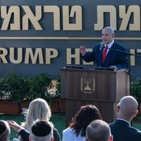 Trump Heights: Israel names Golan Heights settlement after Donald Trump