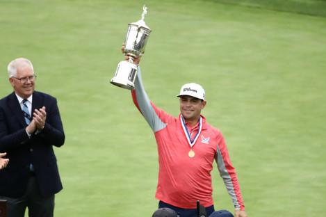 US Open champion Gary Woodland.