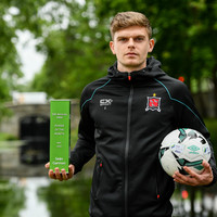 Dundalk defender voted as Airtricity League's Player of the Month for May