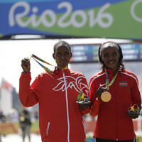 The gold and silver medalists from the Rio 2016 women's marathon have now been banned for doping