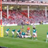 VIDEO: Tindall's try for Barbarians against Ireland