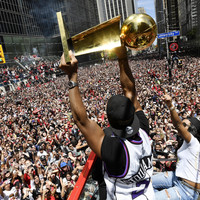 More than one million line the streets of Toronto to celebrate the Raptors' NBA Championship