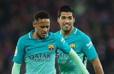 'Who wouldn't want to enjoy players like Neymar?' - Suarez would welcome PSG star's return