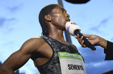 Semenya accuses IAAF of using her as a 'human guinea pig'