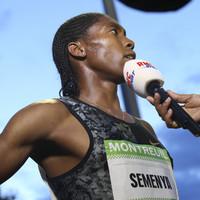 Semenya accuses IAAF of using her as a 'human guinea pig'