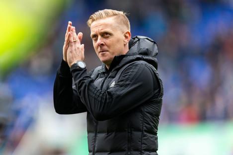 Former Birmingham City manager, Garry Monk.