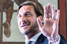 Roma say club legend Totti's claims are 'far from reality'