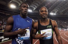 Athletics: Bolt and Powell set to face off in Rome