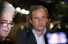Platini denies wrongdoing as he's released in 2022 World Cup probe