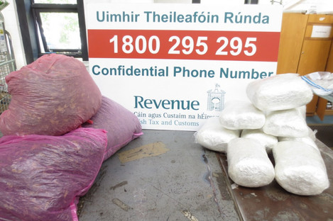 Drugs seized in Portlaoise Mail Centre