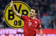 Hummels to make Borussia Dortmund return after winning three Bundesligas with Bayern