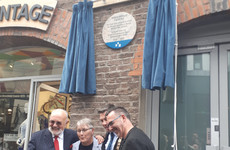 Commemorative plaque unveiled at the site of Ireland's first dedicated LGBT community centre