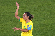 Brazil icon Marta and Aussie hotshot Kerr celebrate World Cup records in France