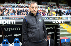 Former Sampdoria boss replaces club legend as AC Milan coach