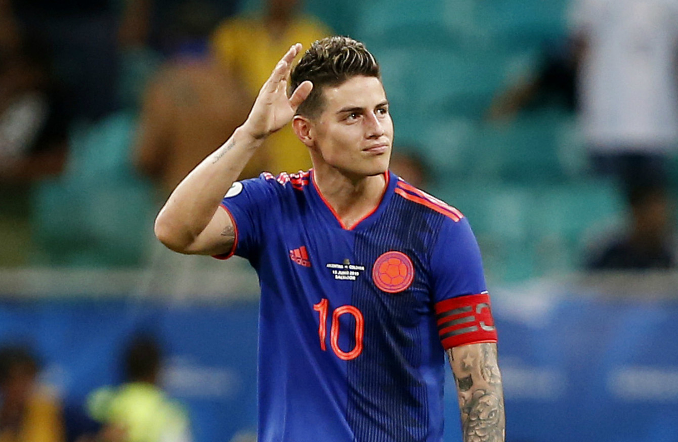 James Rodriguez could be on his way to Serie A · The42