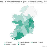 Here are the towns in Ireland with the highest household incomes