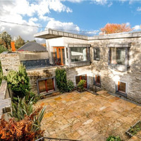 Unusual design built around a private courtyard in Cork for €790,000