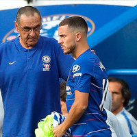 Accommodating Hazard caused defensive issues for Chelsea - Sarri