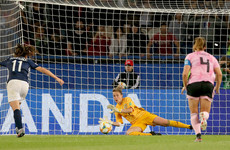England keeper questions 'cruel and pedantic' law after penalty retake dumps Scotland out of World Cup